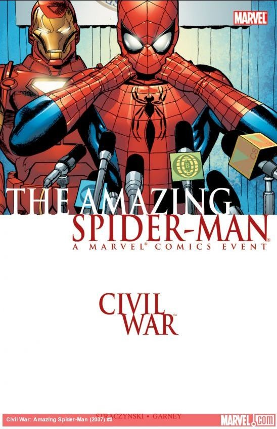 The Amazing Spider-Man: Civil War cover