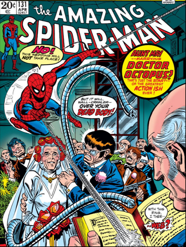 Do Into the Spider-Verse's Aunt May and Doctor Octopus know each other?