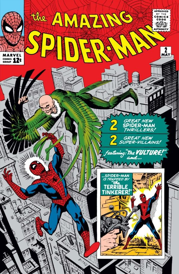Cover of Amazing Spider-Man #2