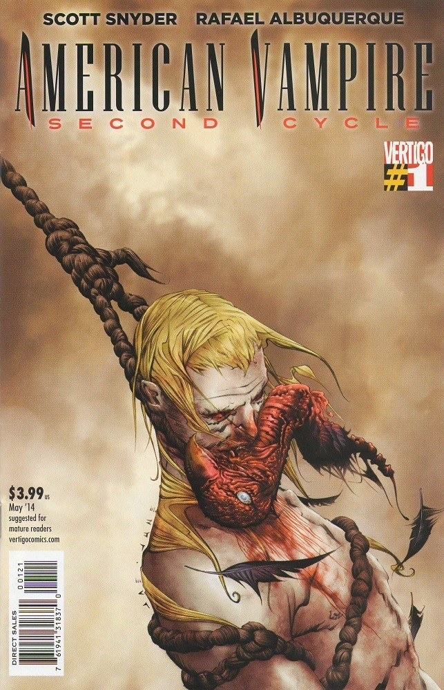 American Vampire Second Cycle #1 Cover