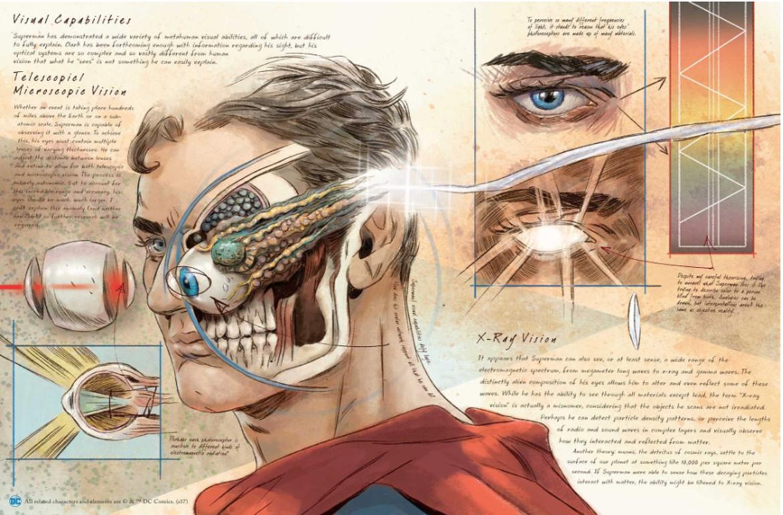 DC Comics Anatomy of a Metahuman