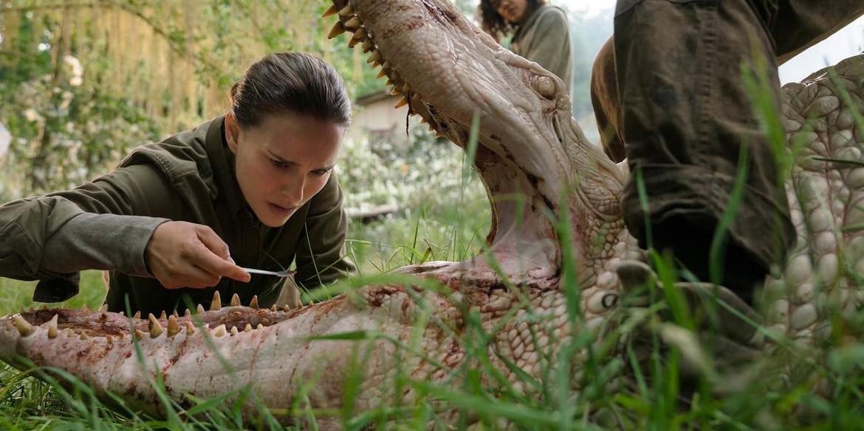 Annihilation Natalie Portman And Animal