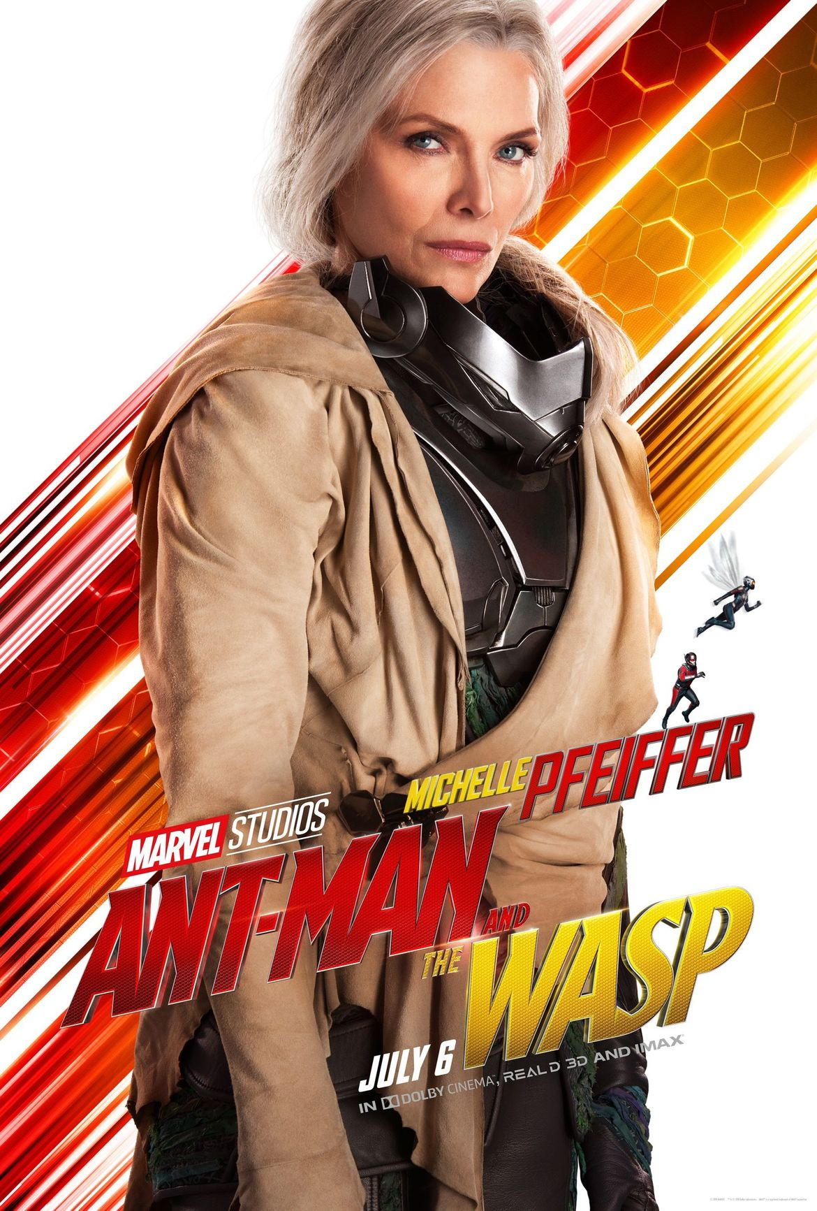 Ant-Man and the Wasp poster Michelle Pfeiffer Janet van Dyne