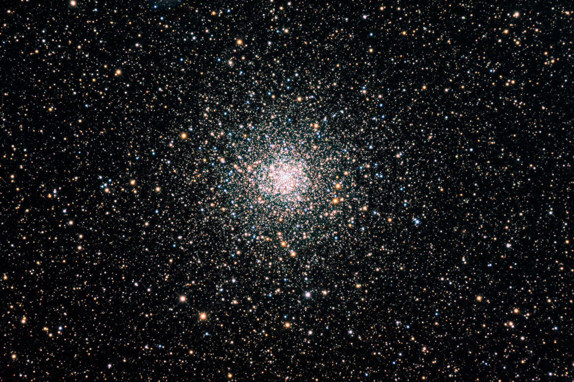 A ground-based view shows the globular cluster NGC 6397 in all its glory. Credit: D. Verschatse / Antilhue Observatory