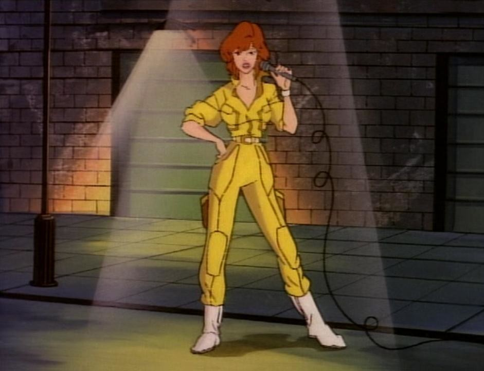 Chosen One Of The Day April Oneils Yellow Jumpsuit Syfy Wire