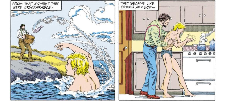 Aquaman and Dad