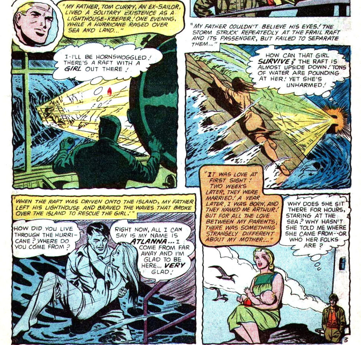 Aquaman Silver Age Origin