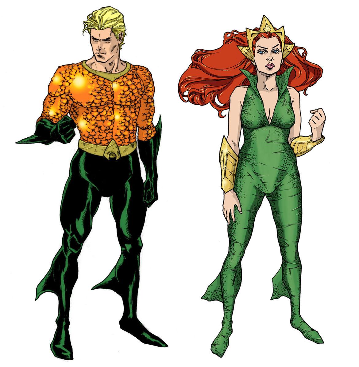 Aquaman Mera design