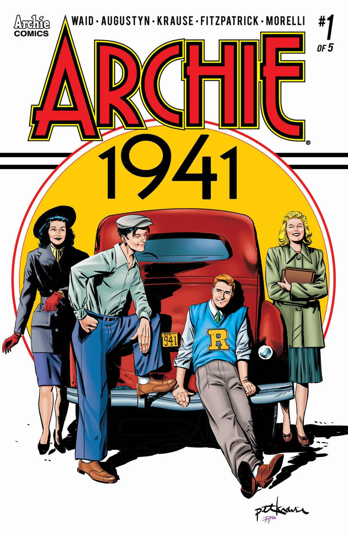 Archie 1941 1 cover