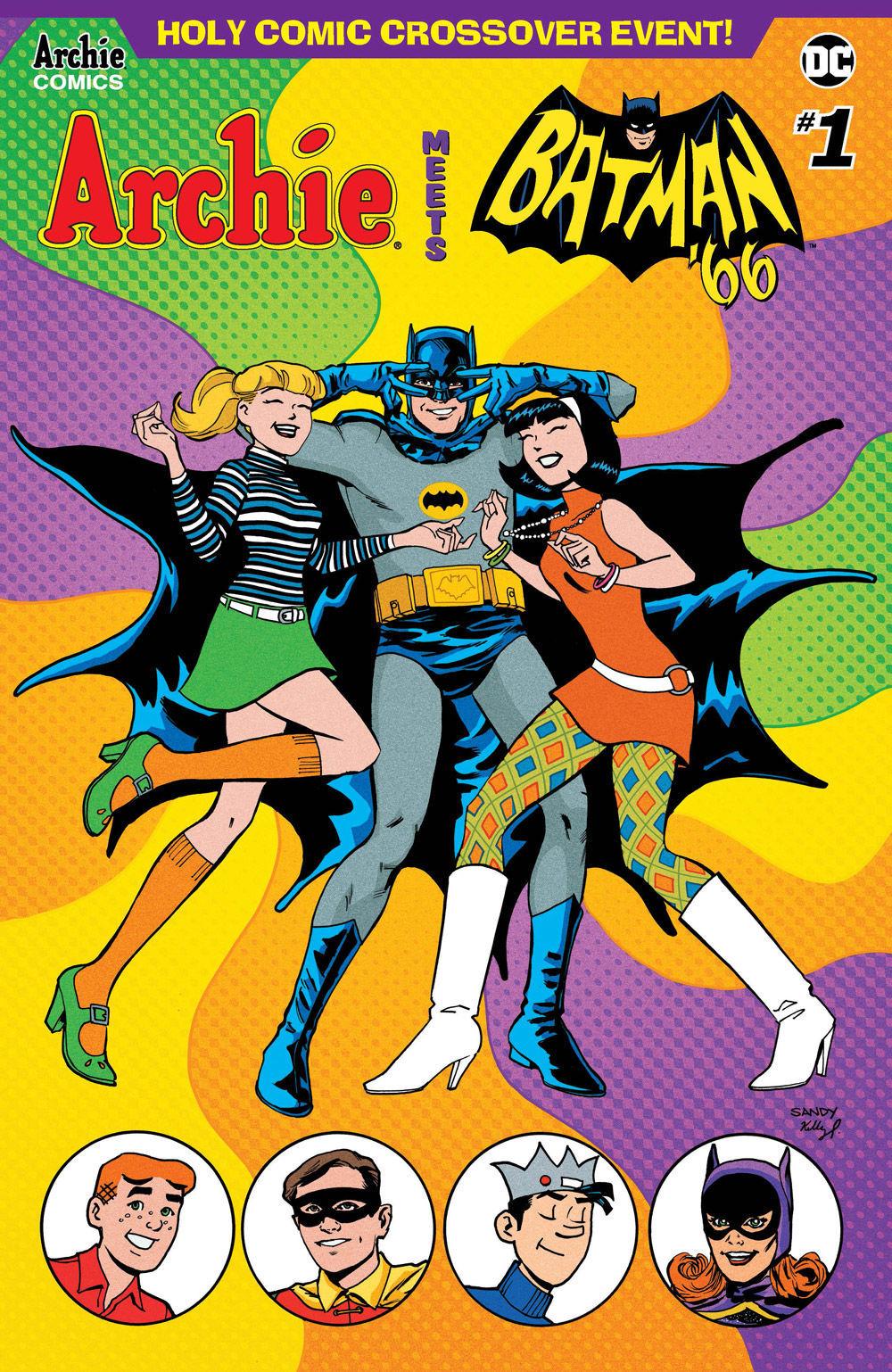 Archie Batman Cover Jarrell
