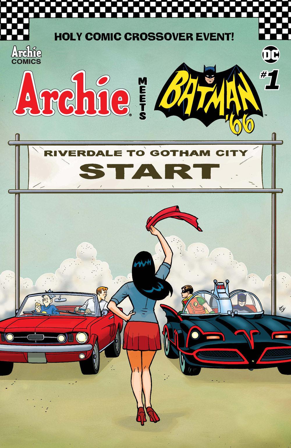Archie Batman Cover Templeton