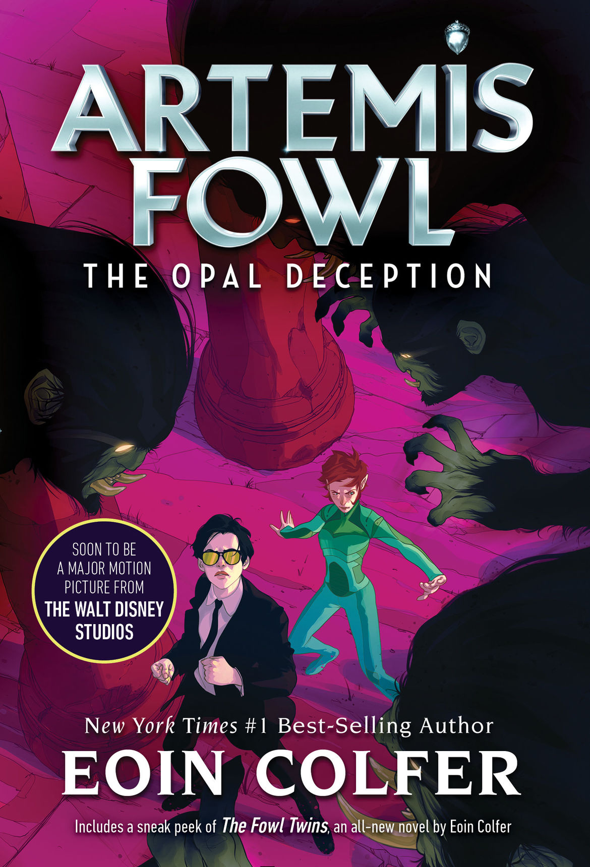 Artemis Fowl 4 The Opal Deception repackage