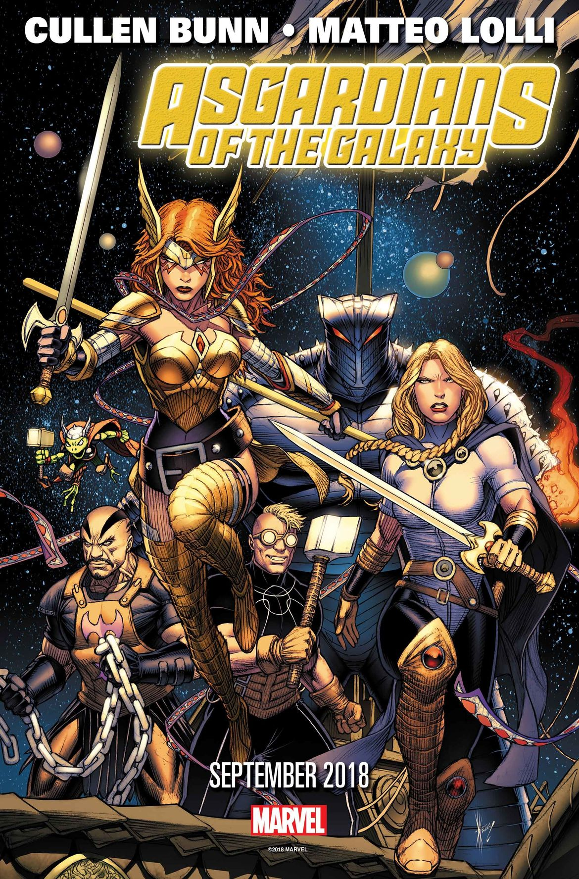 Asgardains of the Galaxy