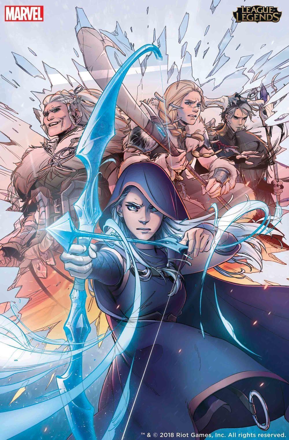 League of Legends graphic novel Marvel