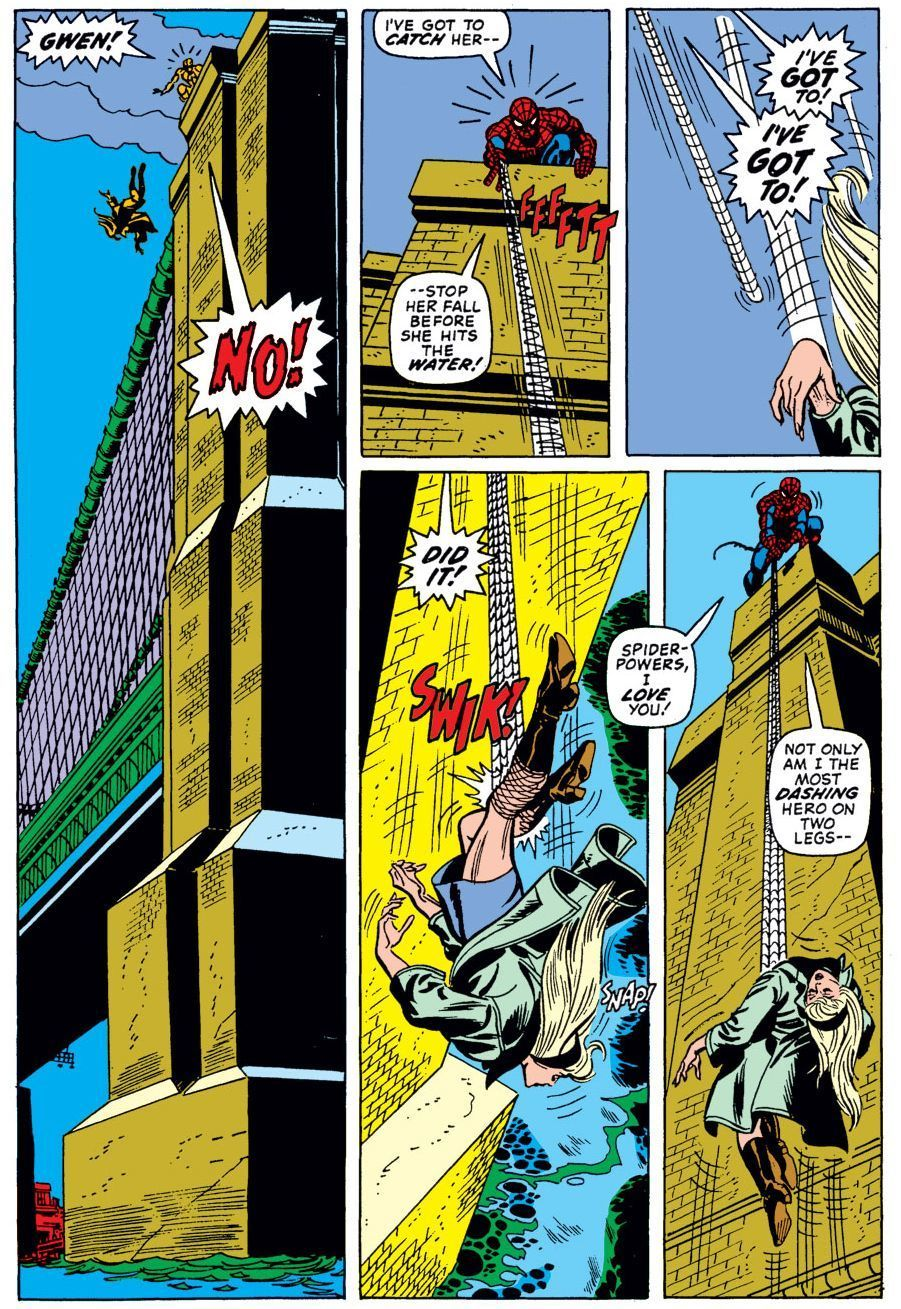 Amazing Spider-Man #121 (Written by Gerry Conway, Art by Gil Kane and John Romita)