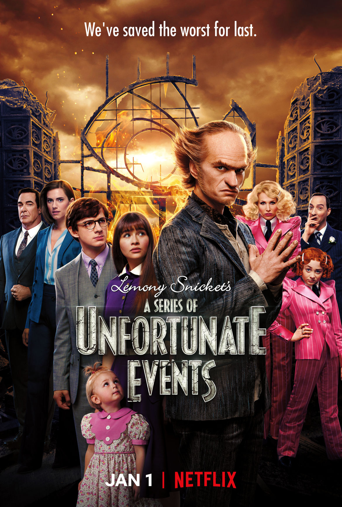 A Series of Unfortunate Events Season 3 poster