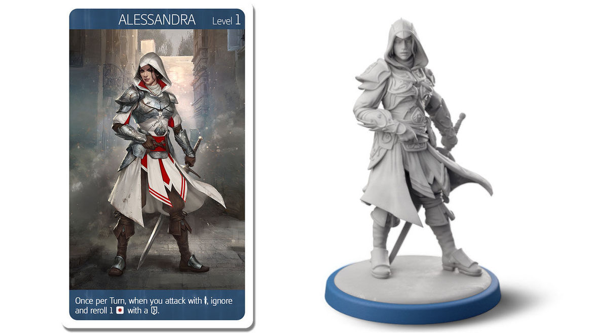 assassins creed miniatures