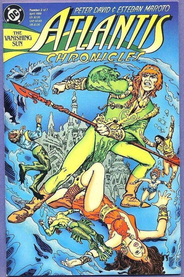 Atlantis Chronicles by Peter David and Esteban Maroto