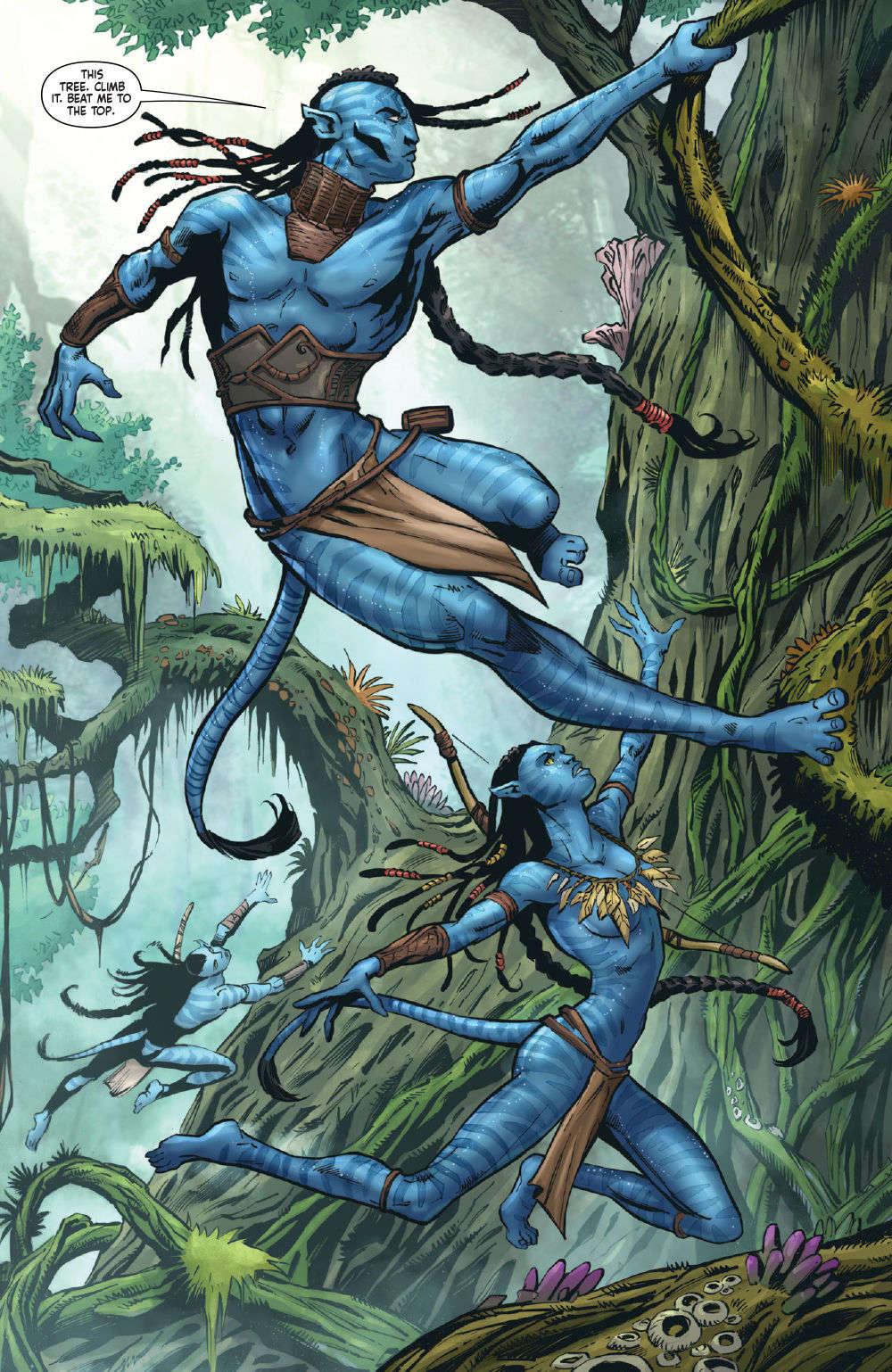 Avatar Tsu'tey's Path #1 Page 8