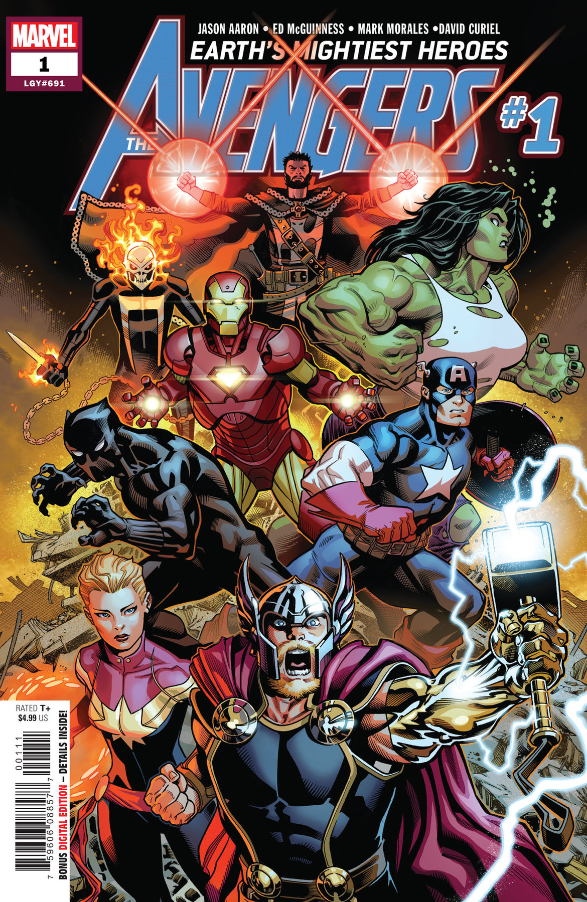 Avengers 1 cover