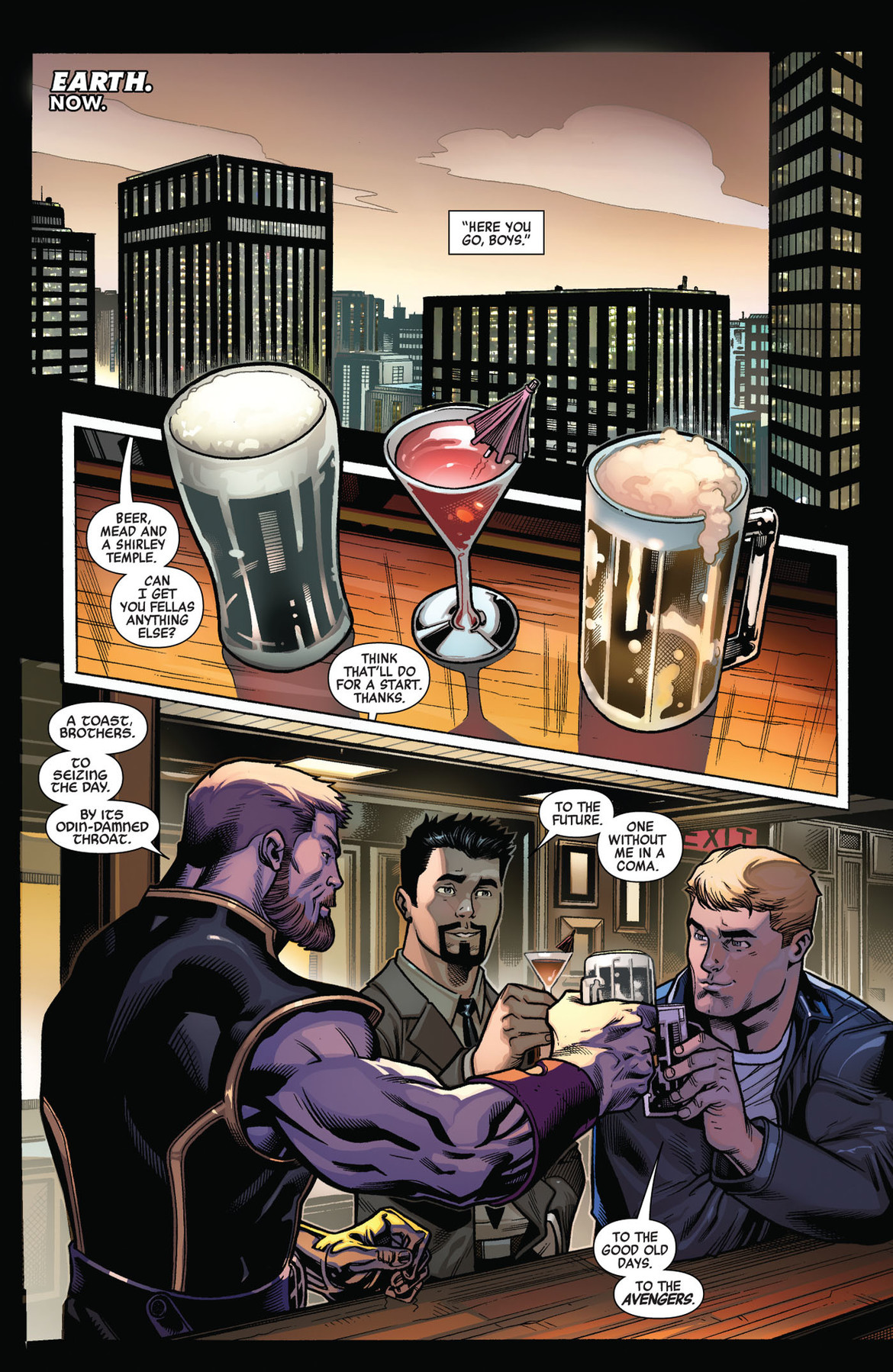 Avengers 1 page 1