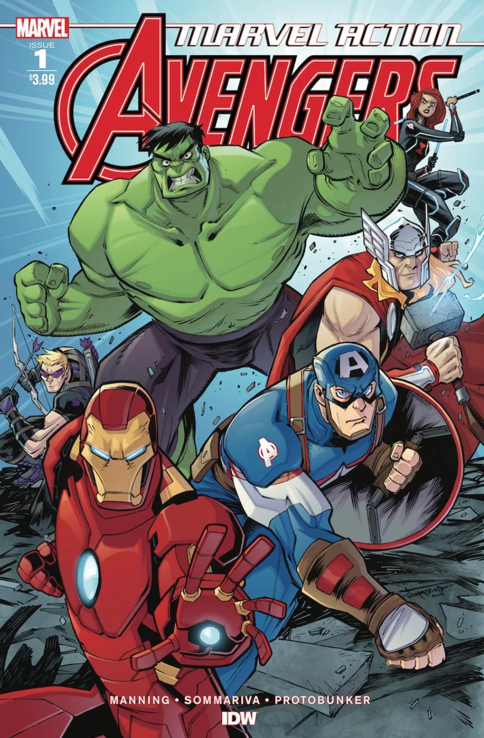 avengers cover 1