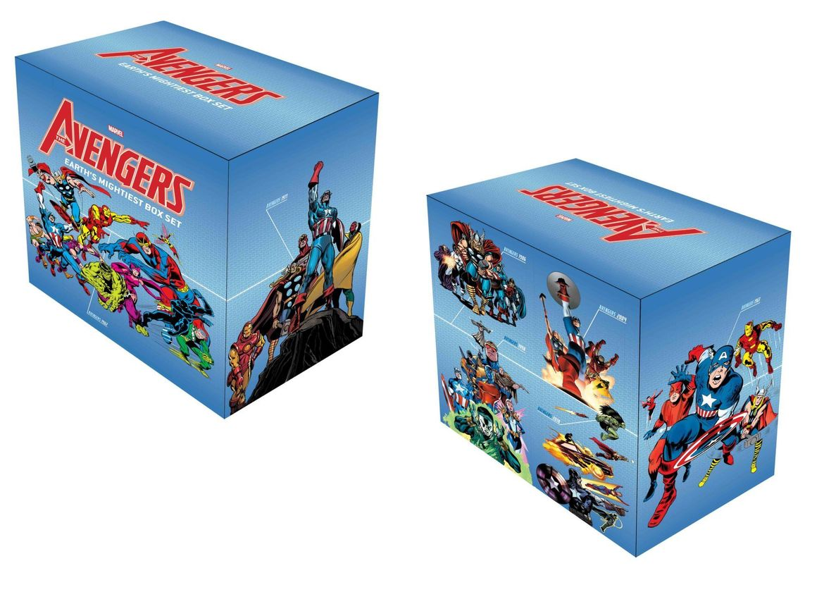 Avengers Earth's Mightiest Box Set