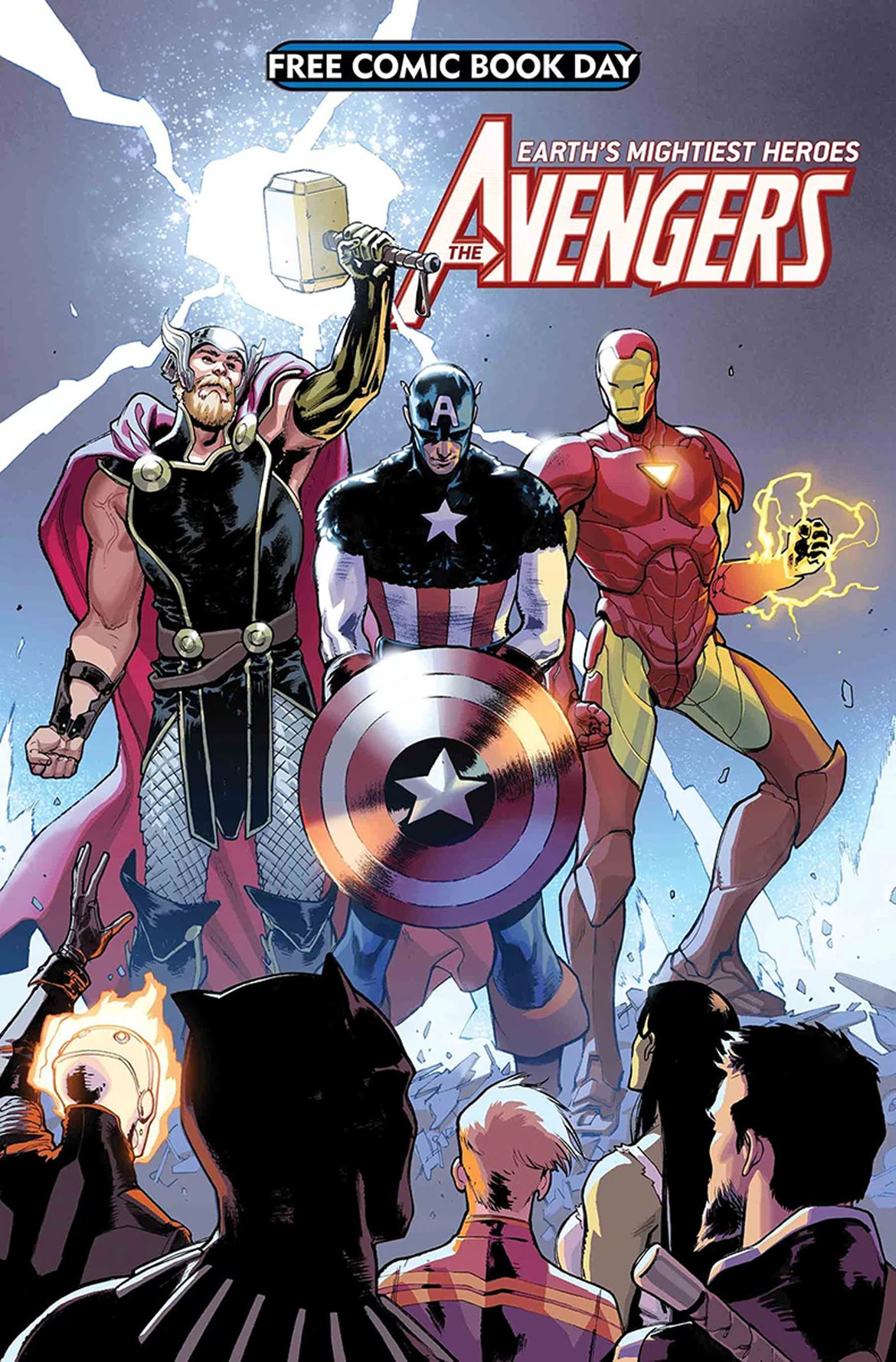 Avengers Captain America FCBD 2018