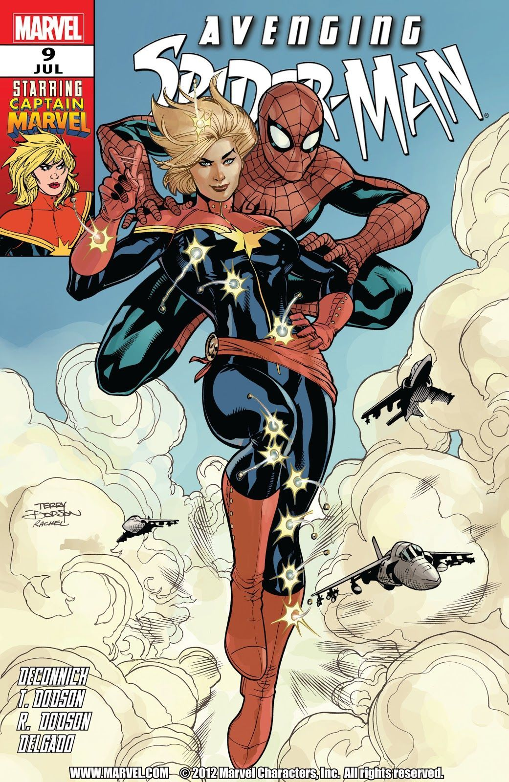 Avenging Spider-Man #9 (Art by Terry Dodson, Written by Kelly Sue DeConnick)