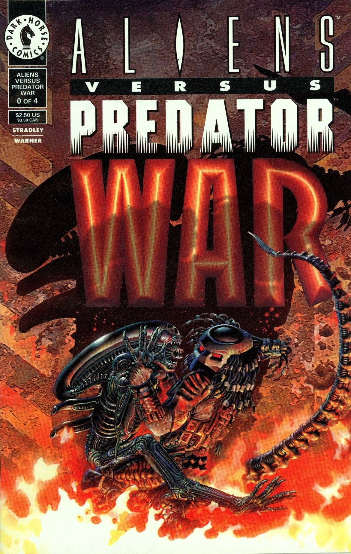 Aliens versus Predator: War #0 Cover
