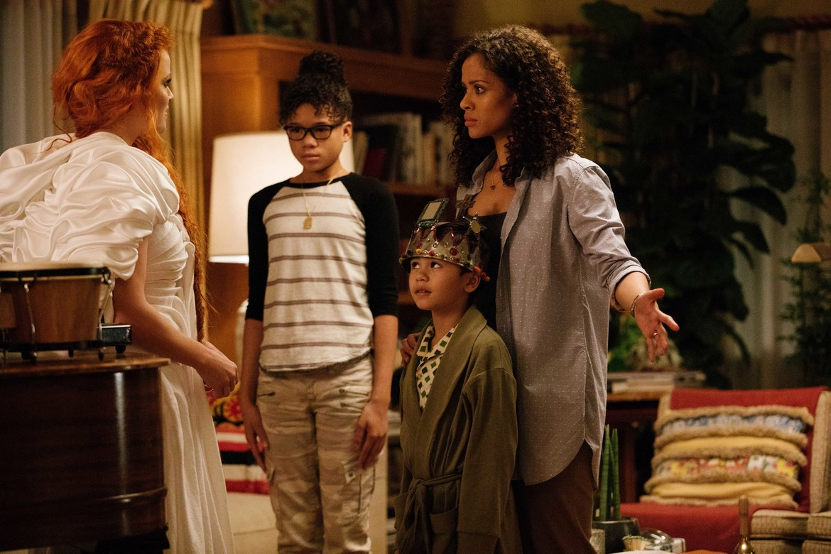 A Wrinkle in Time, Murry Family, Storm Reid, Gugu Mbatha-Raw, Reese Witherspoon