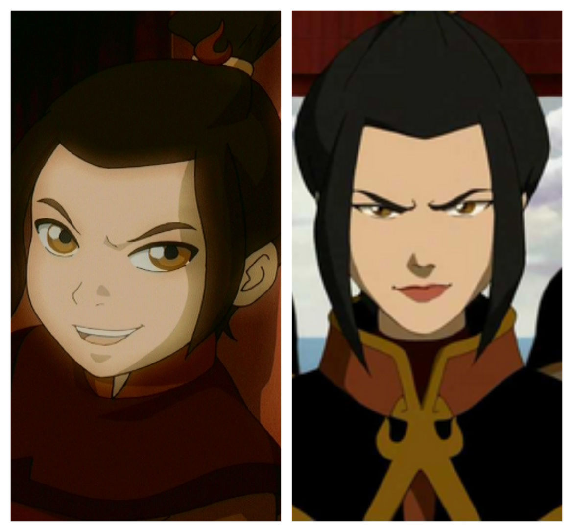 Young and Old Azula