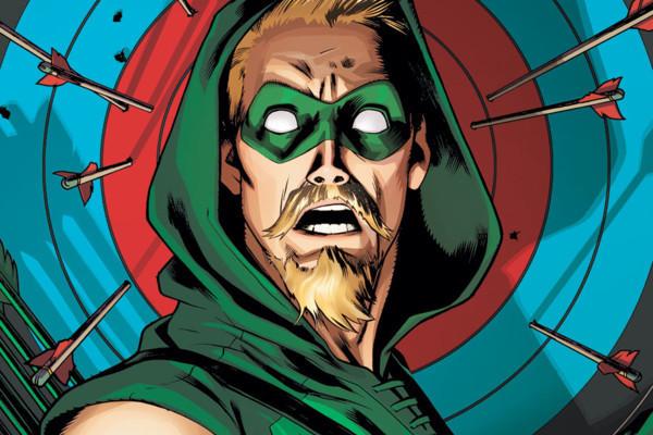 Green Arrow Goatee DC Comics