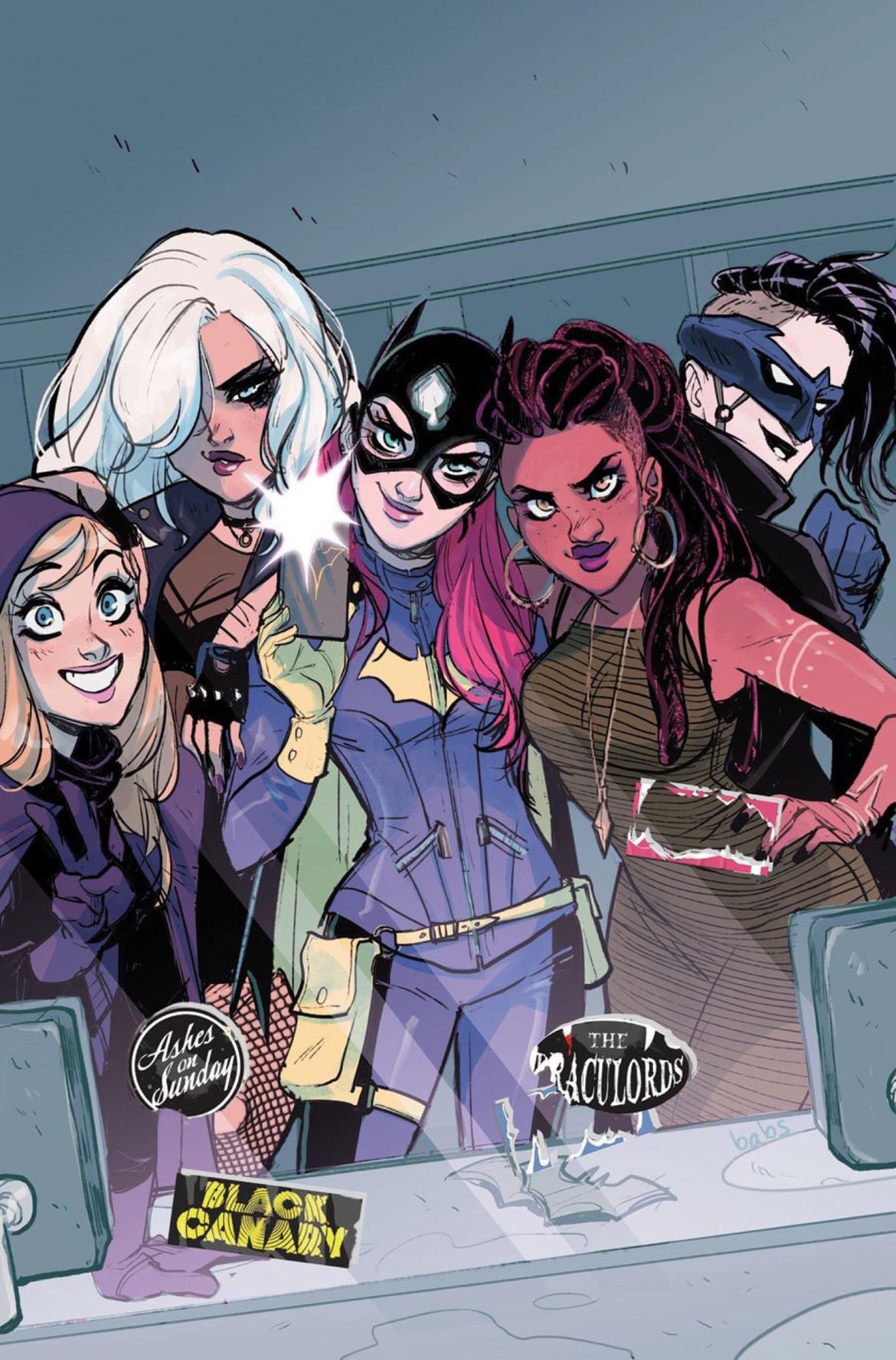Batgirl Comics Porno Comics indie comics spotlight: babs tarr talks redesigning batgirl