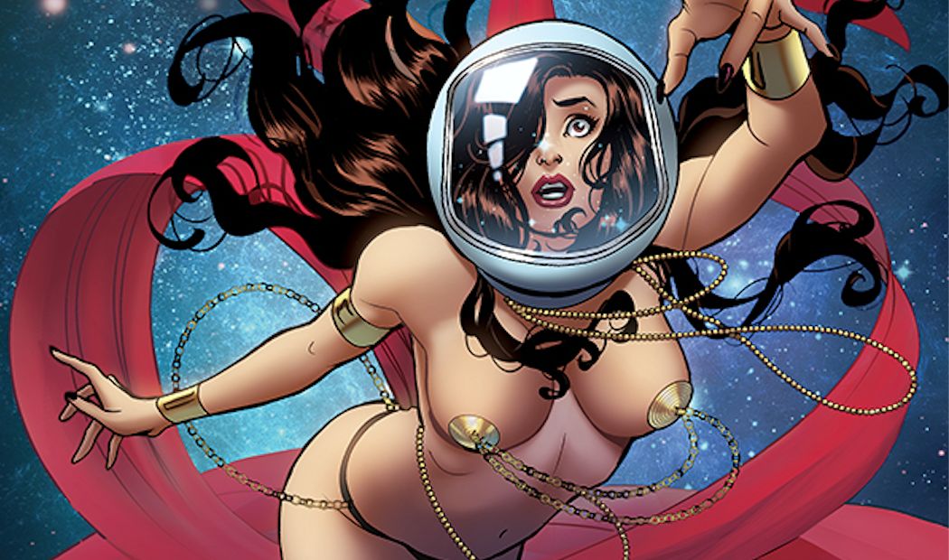 Barbarella Dejah Thoris Cover Slice 2