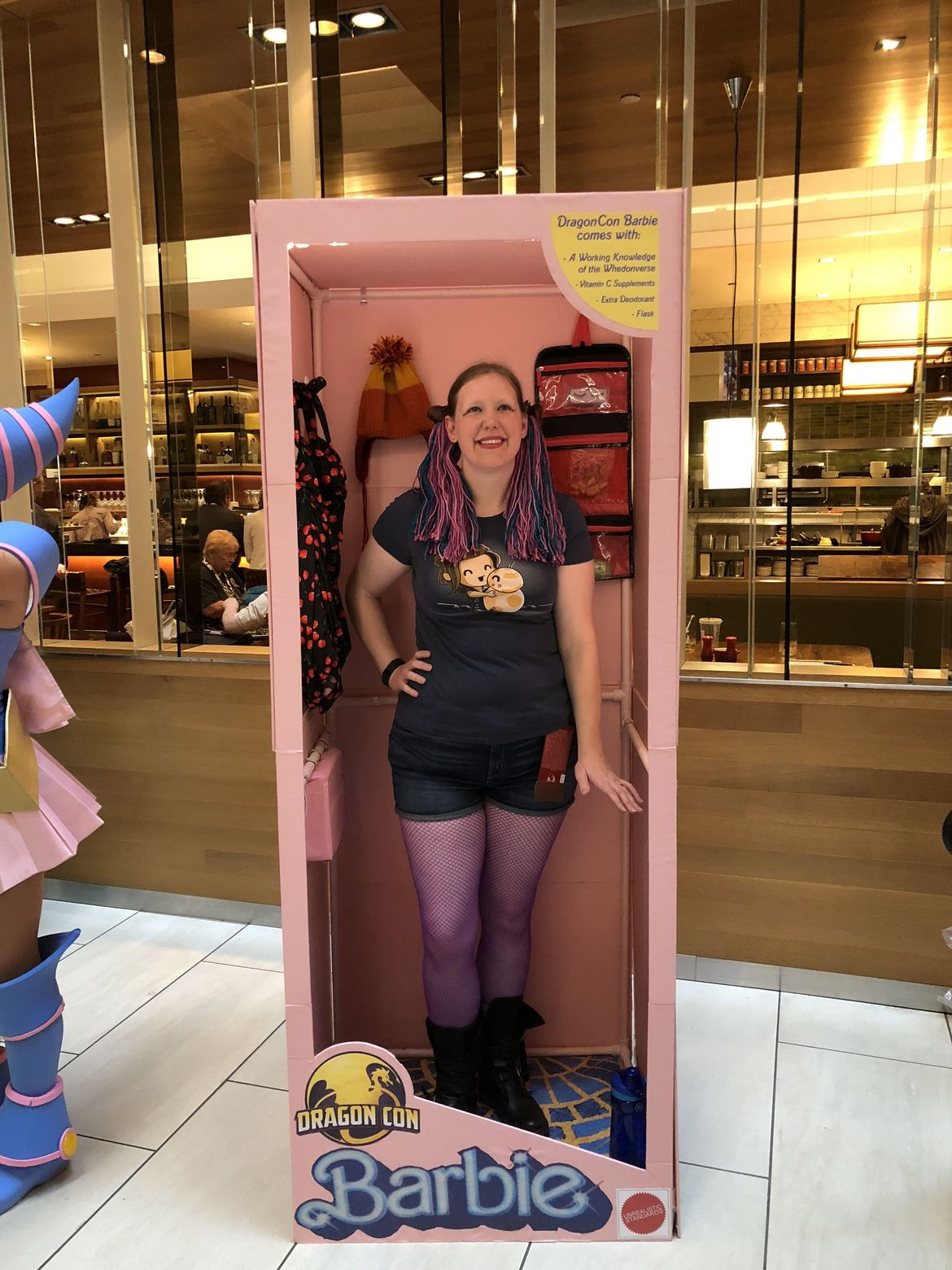 DragonCon cosplay: Barbie - Before