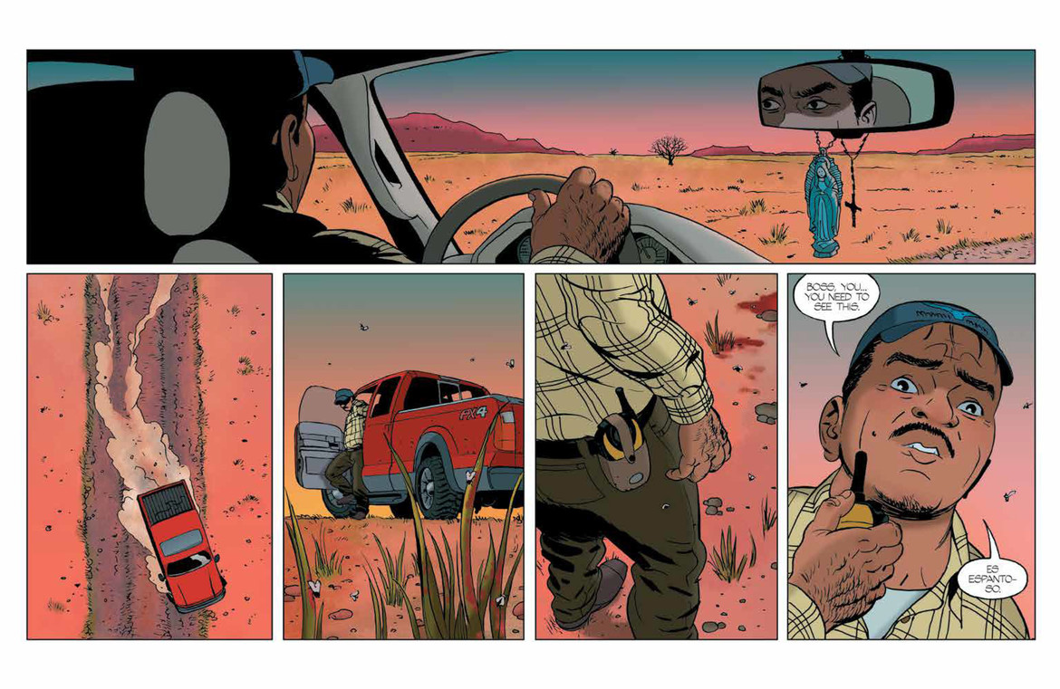 Barrier #1 Interior by Marcos Martin