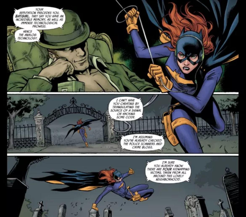 Batgirl vs Riddler 2