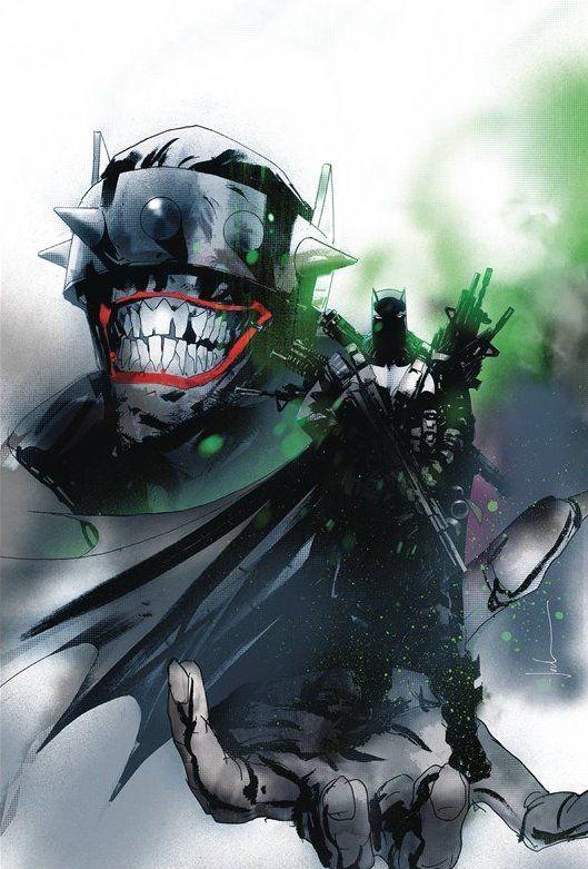 Batman Who Laughs #2 Cover