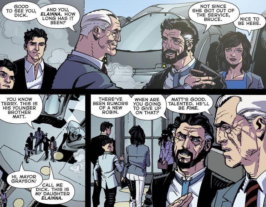 Batman Beyond 25 Dick Grayson