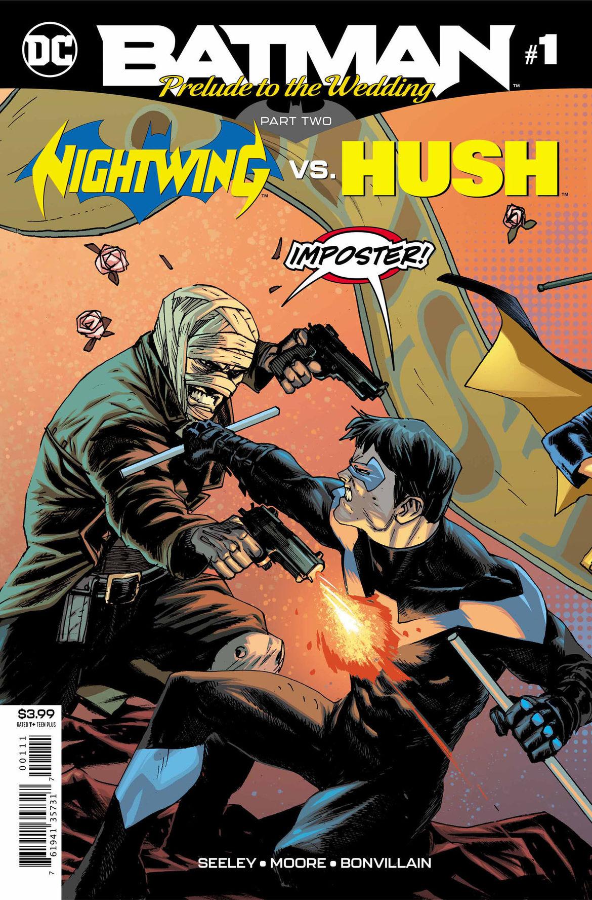 Batman Prelude to the Wedding Nightwing vs Hush 1 cover