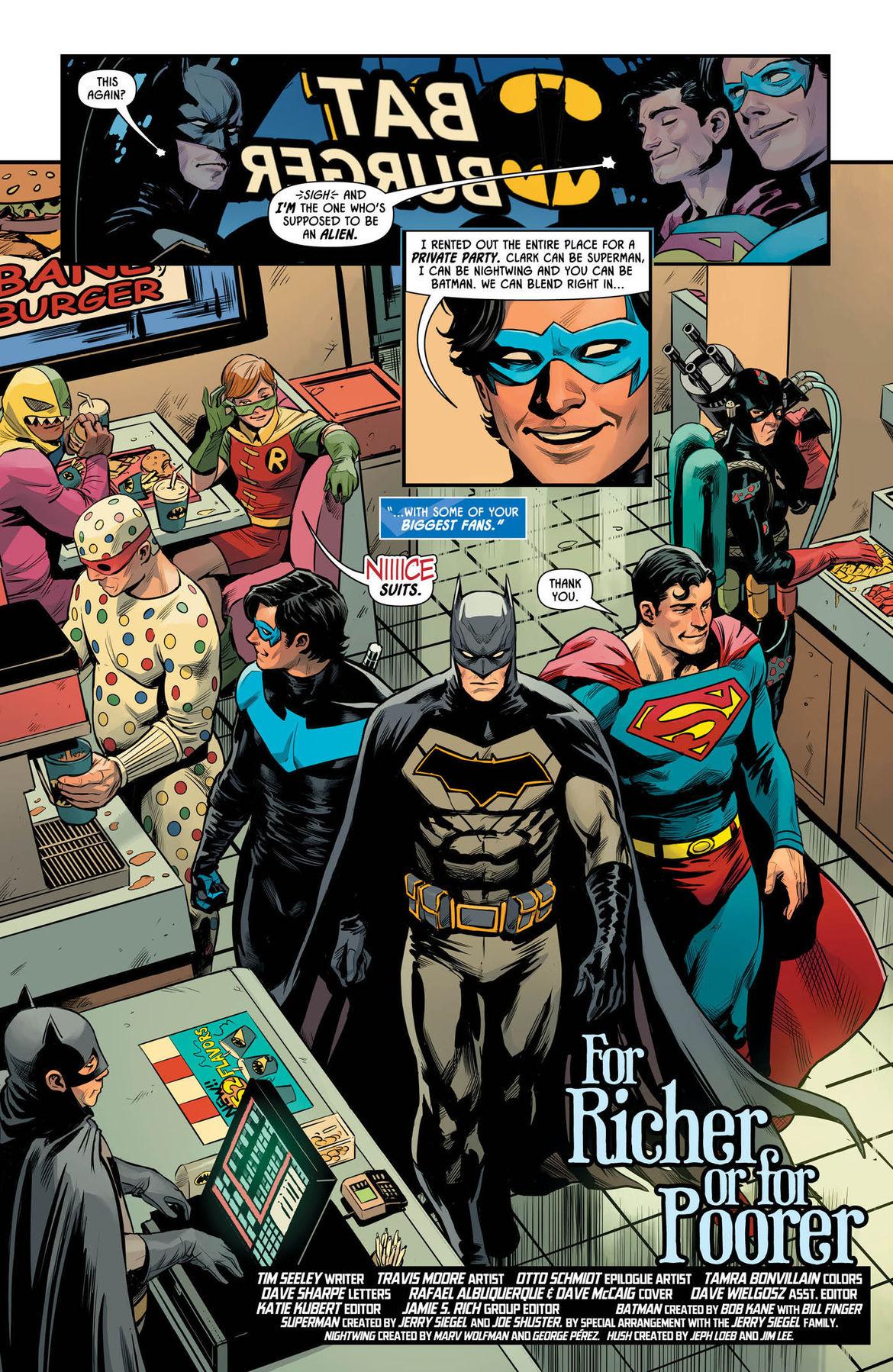 Batman Prelude to the Wedding Nightwing vs Hush 1 page 2