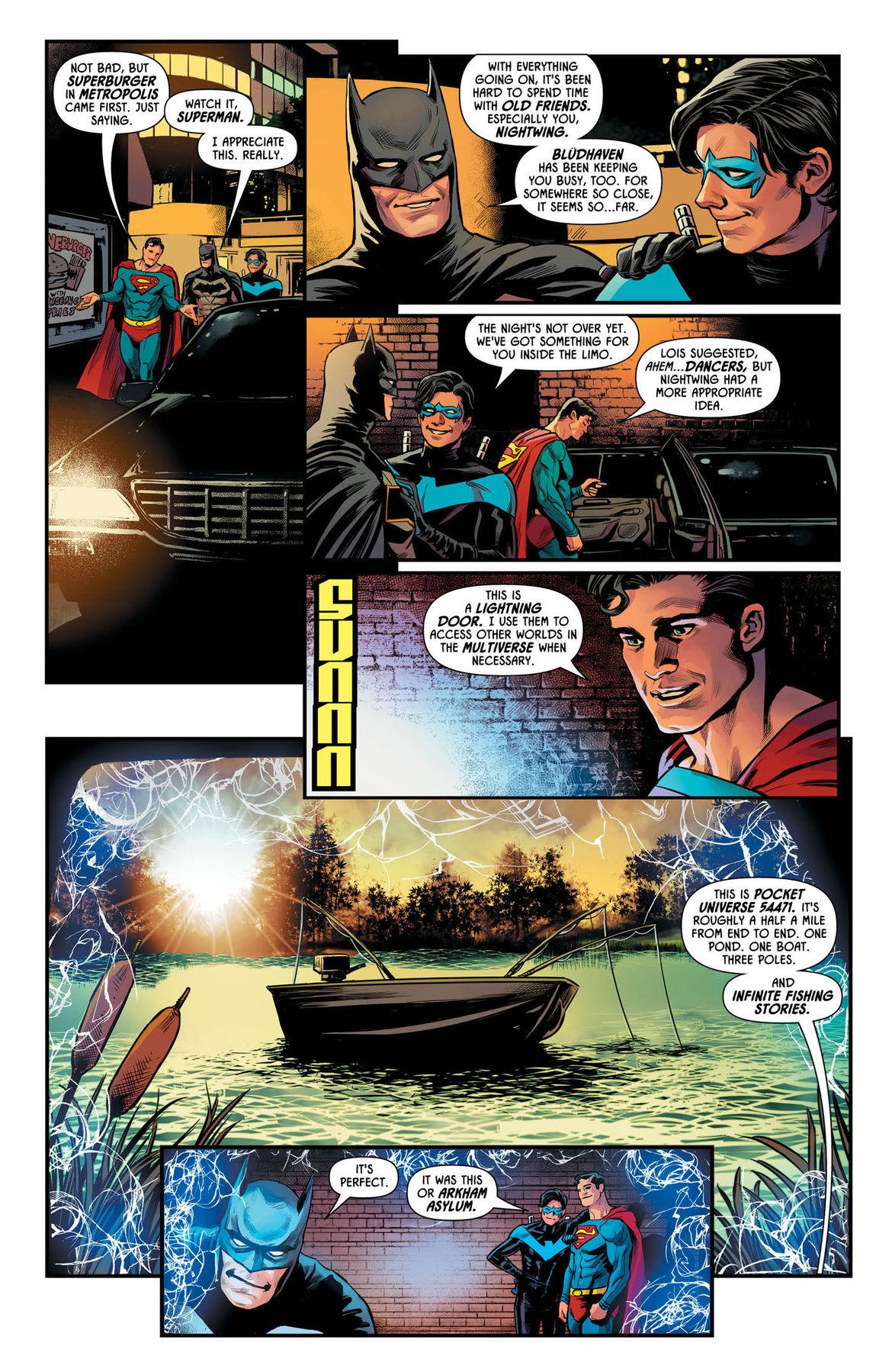 Batman Prelude to the Wedding Nightwing vs Hush 1 page 3