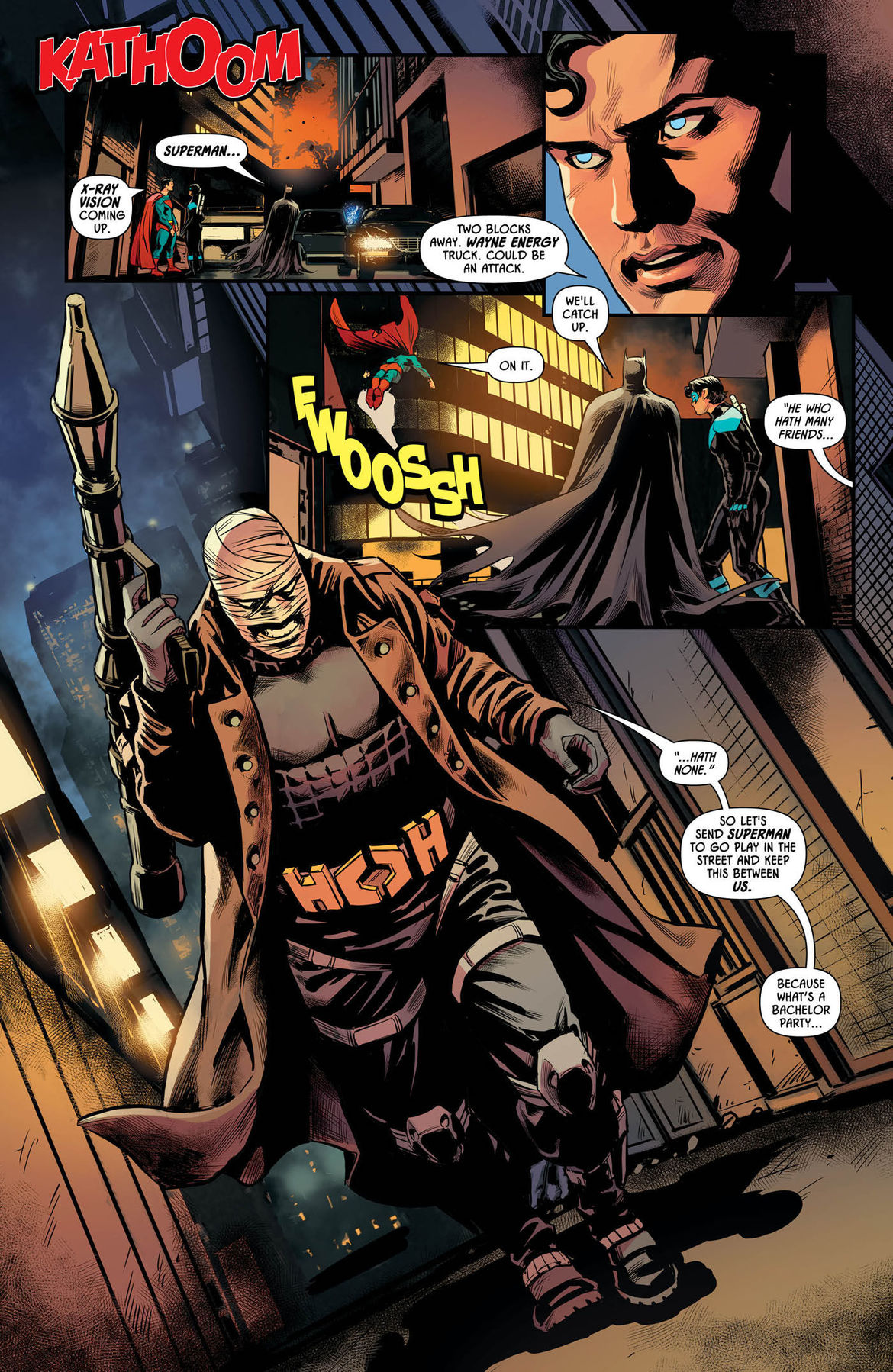 Exclusive interview: Tim Seeley on the Batman Wedding prelude one-shots