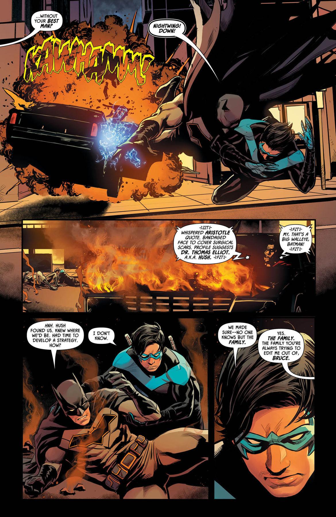 Batman Prelude to the Wedding Nightwing vs Hush 1 page 5