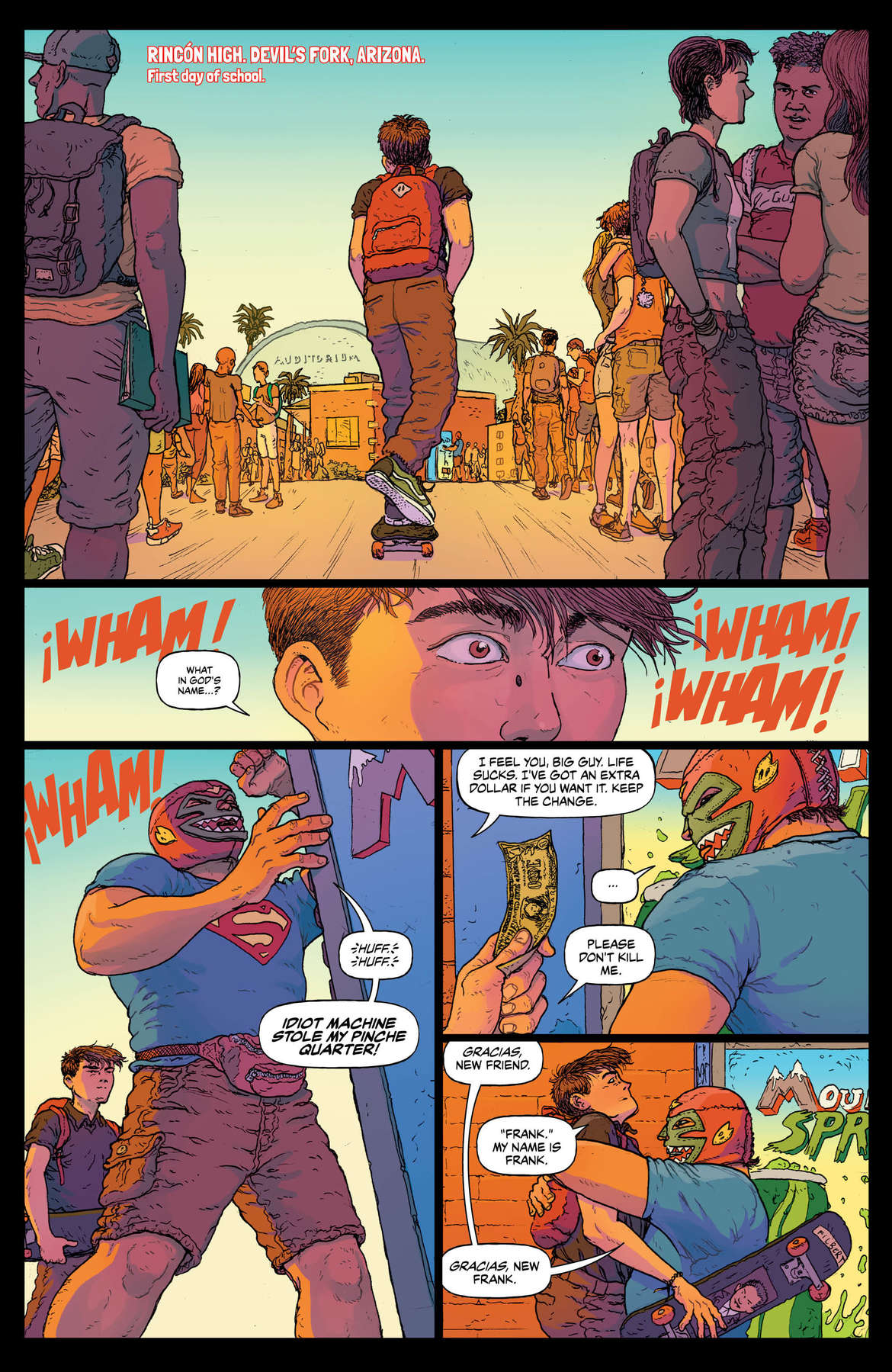 Border Town Page 6