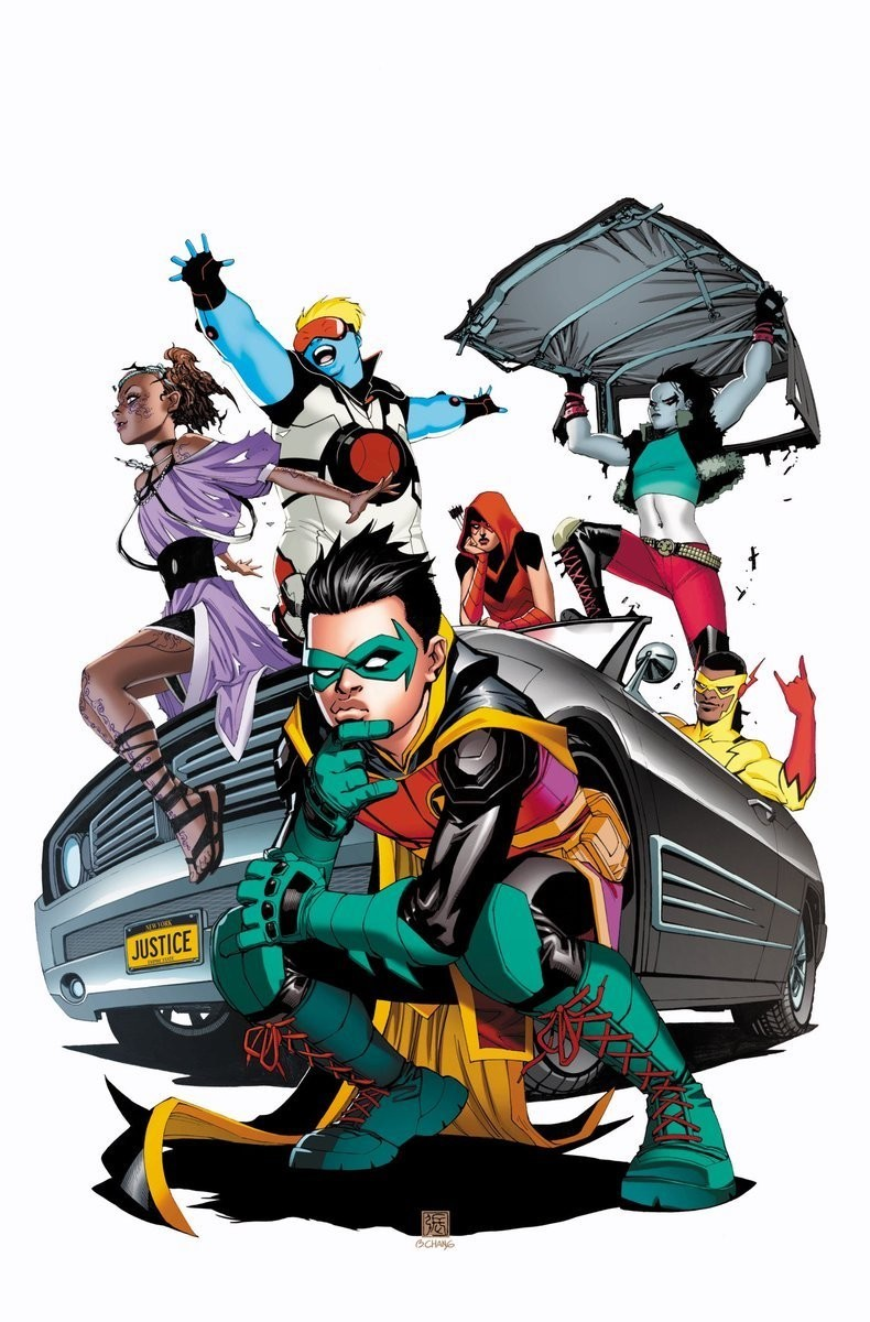 Teen Titans by Bernard Chang Full Cover
