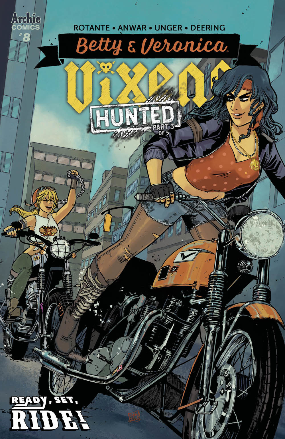 betty and veronica vixens 08 cover sanya anwar