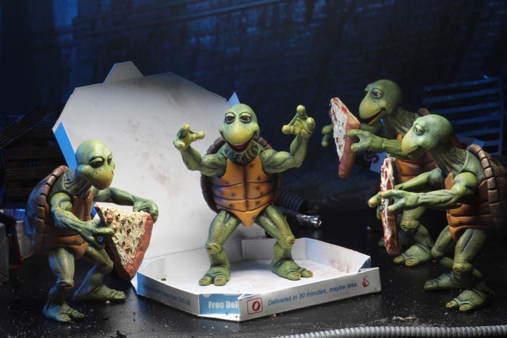 neca teenage mutant ninja turtles 1990 baby turtles