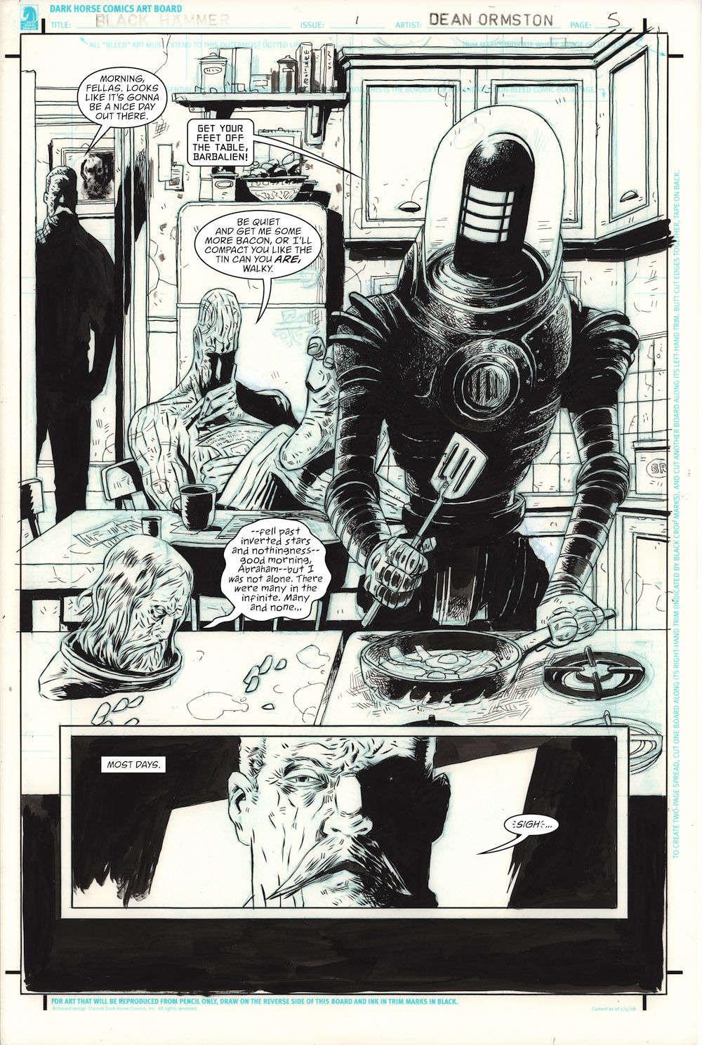 Black Hammer DC Page 5